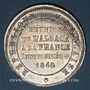 Münzen 2e centenaire de la Réunion de l'Alsace à la France (traité de Westphalie). 1848. Médaille en étain