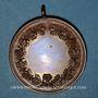 Münzen Alsace. Barr. Olympia Barr. Médaille cuivre. 33,56 mm, avec son œillet