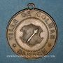 Münzen Alsace. Colmar. Cavalcade de bienfaisance. 1882. Médaille laiton. 29,5 mm, avec œillet