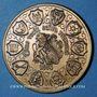 Münzen Alsace. Commémoration de la Décapole. 1988. Médaille en bronze. 42,2 mm. Gravée par F. Steiner
