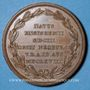 Münzen Alsace. Ensisheim. Balde Jacob (1603-1668). Médaille bronze, 40,8 mm. Gravée par Neuss