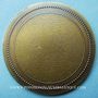 Münzen Alsace. Eschau. Bénédiction des cloches. 1987. Médaille bronze. Uniface. 60 mm. Signée Gerner