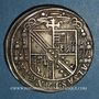 Münzen Alsace. Evêché de Strasbourg. Charles de Lorraine (1592-1607). Teston 1606 S. Saverne
