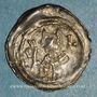 Münzen Alsace. Evêché de Strasbourg. Epoque des Hohenstaufen (1138-1284). Denier vers 1190-1220