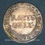Münzen Alsace. Haguenau. Rahtsgeld (= 1 batz)