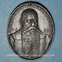 Münzen Alsace. Jean-Jacques Waldner de Freundstein (1554-1619). 1612.  Médaille étain (surmoulage)