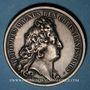 Münzen Alsace. Les Allemands chassés de l'Alsace. 1675. Médaille argent. 41,47 mm. Refrappe