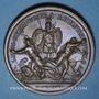 Münzen Alsace. Les Allemands chassés de l'Alsace. 1675. Médaille cuivre