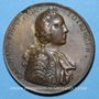 Münzen Alsace-Lorraine Charles-Alexandre de Lorraine -Passage du Rhin et invasion de l'Alsace 1744 médaille