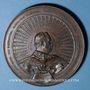 Münzen Alsace-Lorraine. Guerre de 1870-1871. Médaille en cuivre. 75,55 mm. Gravée par  Charles Wiener