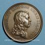 Münzen Alsace-Lorraine. Prise de Belfort 1654. Médaille bronze jaune. Frappe postérieure (avant 1830)