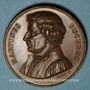 Münzen Alsace. Martin Bucer (1491-1551). 1824. Bronze. 41,57 mm