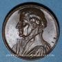 Münzen Alsace. Martin Bucer (1491-1551). 1824. Médaille bronze. 28,25 mm. Gravée par Jean Dassier