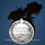 Münzen Alsace. Pfastatt. Harmonie. 1900. Médaille étain nickelé. 31 mm