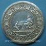 Münzen Alsace. Soumission des dix Villes Impériales de l'Alsace (Décapole) 1680 Arg 44,2 mm, par  Roettiers