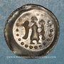 Münzen Alsace. Strasbourg. Monnayage affermé par l'évêché (1296-1334). Pfennig à l'ange, 1296-1334
