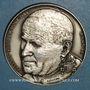 Münzen Alsace. Strasbourg. Visite de Jean-Paul II. 8-11 octobre 1988. Médaille argent. Signée Britschu
