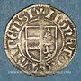 Münzen Alsace. Thann. Doppelvierer (16e siècle). Type avec TANNENSIS