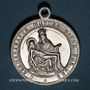 Münzen Hohatzenheim. Souvenir du pèlerinage à Hohatzenheim (fin 19e–début 20e). Médaille aluminium