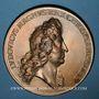 Münzen Huningue. Les Fortifications. 1680. Bronze. 69 mm