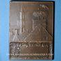 Münzen L'Alsace (1919). Plaquette bronze. 50,9 x 68,3 mm. Gravée par G. Prud'homme.