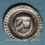 Münzen Landgraviat d'Alsace (Thann). Catherine de Bourgogne (1407-1424). Rappen