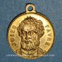 Münzen Strasbourg. Guerre de 1870 - Jules Favre. Médaille laiton