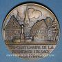 Münzen Tricentenaire de la réunion de l'Alsace à la France. (1948). Médaille bronze. 67 mm