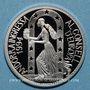 Münzen Andorre. Principauté. 10 diners 1995. Admission au Conseil de l'Europe. (PTL 925/1000. 31,47 g)