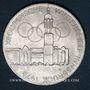 Münzen Autriche. République. 100 schilling (1975) Immeuble et anneaux olympiques - Aigle