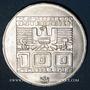 Münzen Autriche. République. 100 schilling (1976). Jeux olympiques d'hiver d'Innsbruck. Tremplin - aigle