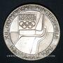 Münzen Autriche. République. 100 schilling (1976). Jeux olympiques d'hiver d'Innsbruck. Tremplin-écusson