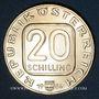 Münzen Autriche. République. 20 schilling 1984. Château de Grafenegg
