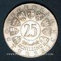Münzen Autriche. République. 25 schilling 1957. Mariazell