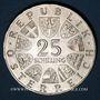 Münzen Autriche. République. 25 schilling 1964. Grillparzer