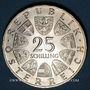 Münzen Autriche. République. 25 schilling 1966. Ferdinand Raimund