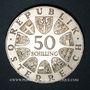 Münzen Autriche. République. 50 schilling 1971. Julius Raab