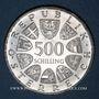 Münzen Autriche. République. 500 schilling 1980. Marie Thérèse
