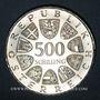 Münzen Autriche. République. 500 schilling 1982. Léopold Figl