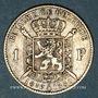 Münzen Belgique. Léopold II (1865-1909). 1 franc 1880. Type du cinquantenaire