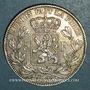 Münzen Belgique. Léopold II (1865-1909). 5 francs 1873. Position A