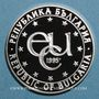Münzen Bulgarie. République. 1000 leva 1996. Observatoire Rozhen. (PTL 925/1000. 33,63 g)