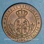 Münzen Espagne. Isabelle II (1833-1868). 1/2 centimos 1867 OM. Barcelone