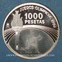 Münzen Espagne. Juan Carlos I (1975- 2014). 1 000 pesetas 1996. (PTL 925/1000. 13,66 g)