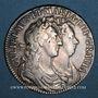 Münzen Grande Bretagne. Guillaume et Marie (1688-1694). 1/2 couronne 1689