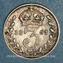 Münzen Grande Bretagne. Victoria (1837-1901). 3 pence 1897