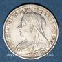 Münzen Grande Bretagne. Victoria (1837-1901). 3 pence 1900