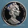 Münzen Ile de Man. Elisabeth II (1952- ). 15 écu 1995. (PTL 925/1000. 10 g)