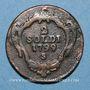 Münzen Italie. Gorize. François II d'Autriche (1792-1804). 2 soldi 1799S. Schmöllnitz