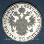Münzen Italie. Lombardie-Vénétie. Ferdinand I (1835-1848). 20 kreuzer 1843. Milan